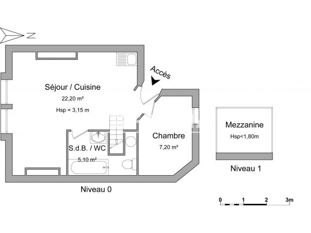 Appartement à louer, Bordeaux (33800)