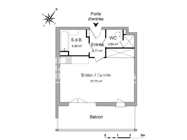 Appartement à louer, Nice (06000)