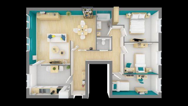 Appartement à vendre sur Rombas