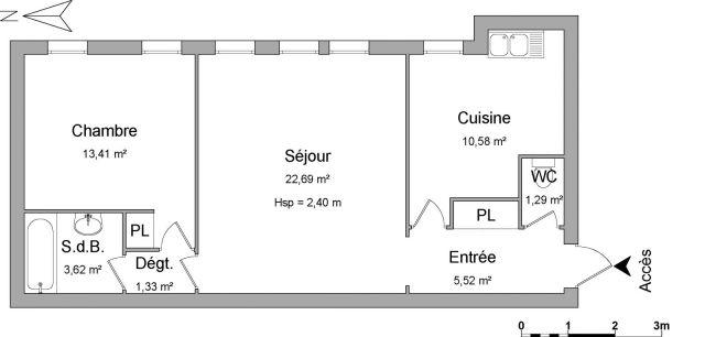 Appartement à louer sur Plaisir