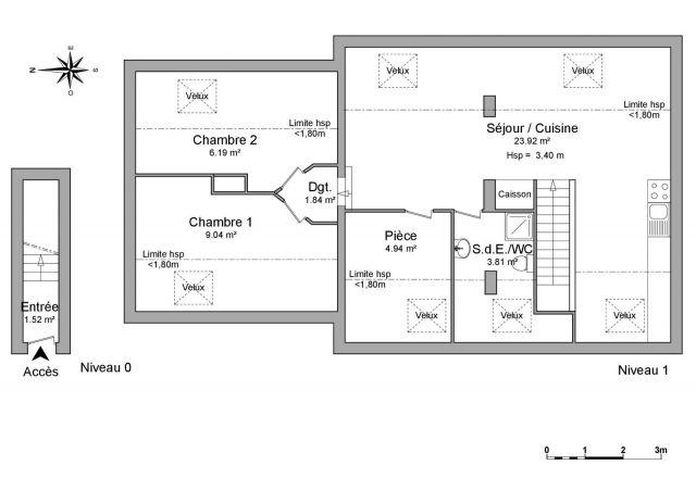 Appartement à louer sur Enchenberg