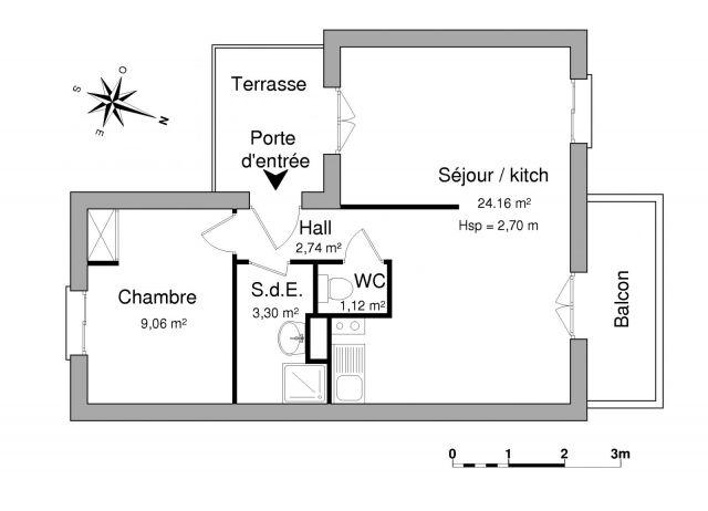 Appartement à louer sur Evian-les-bains