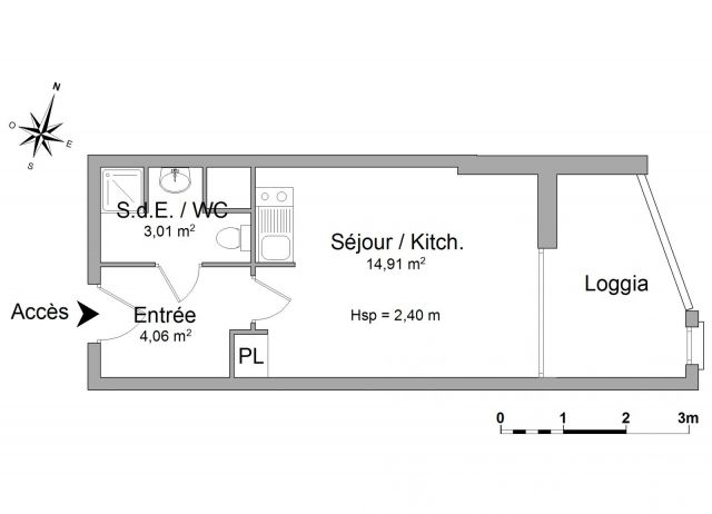 Appartement à louer sur Le Grau Du Roi