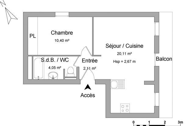 Appartement meublé à louer sur Flumet