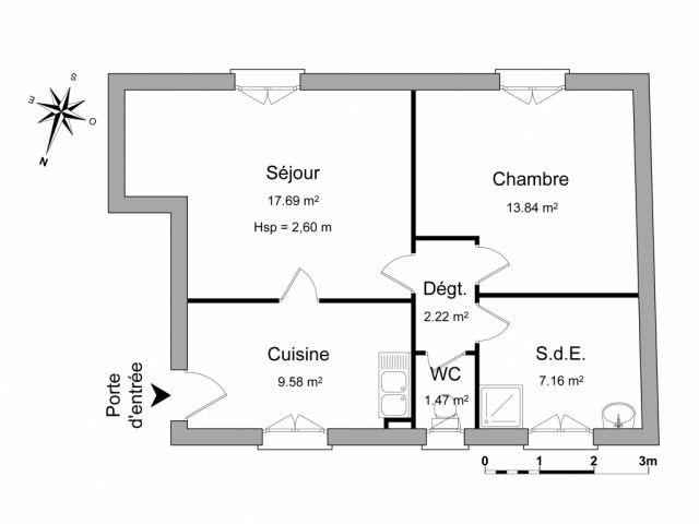 Appartement à louer sur Borderes Sur Echez