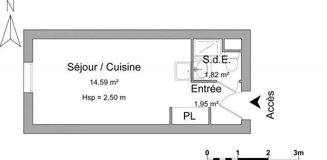 Appartement à louer sur Cergy St Christophe
