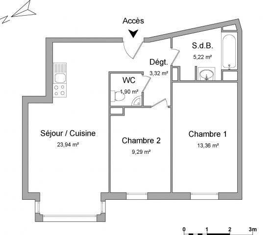 Appartement à louer sur Franconville La Garenne