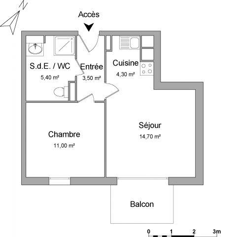 Appartement à louer sur Wervicq-sud
