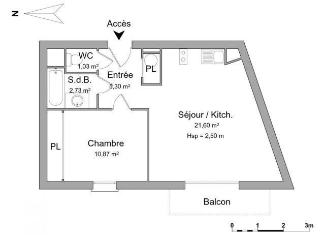 Appartement à louer sur Cognac