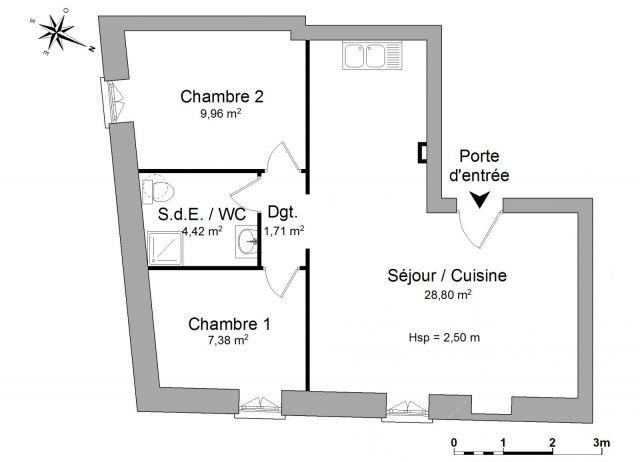 Appartement à louer sur Saint Chaptes